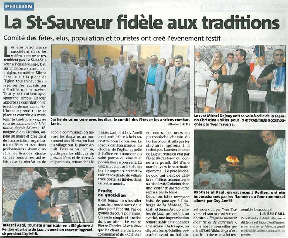 Newspaper: Nice Matin