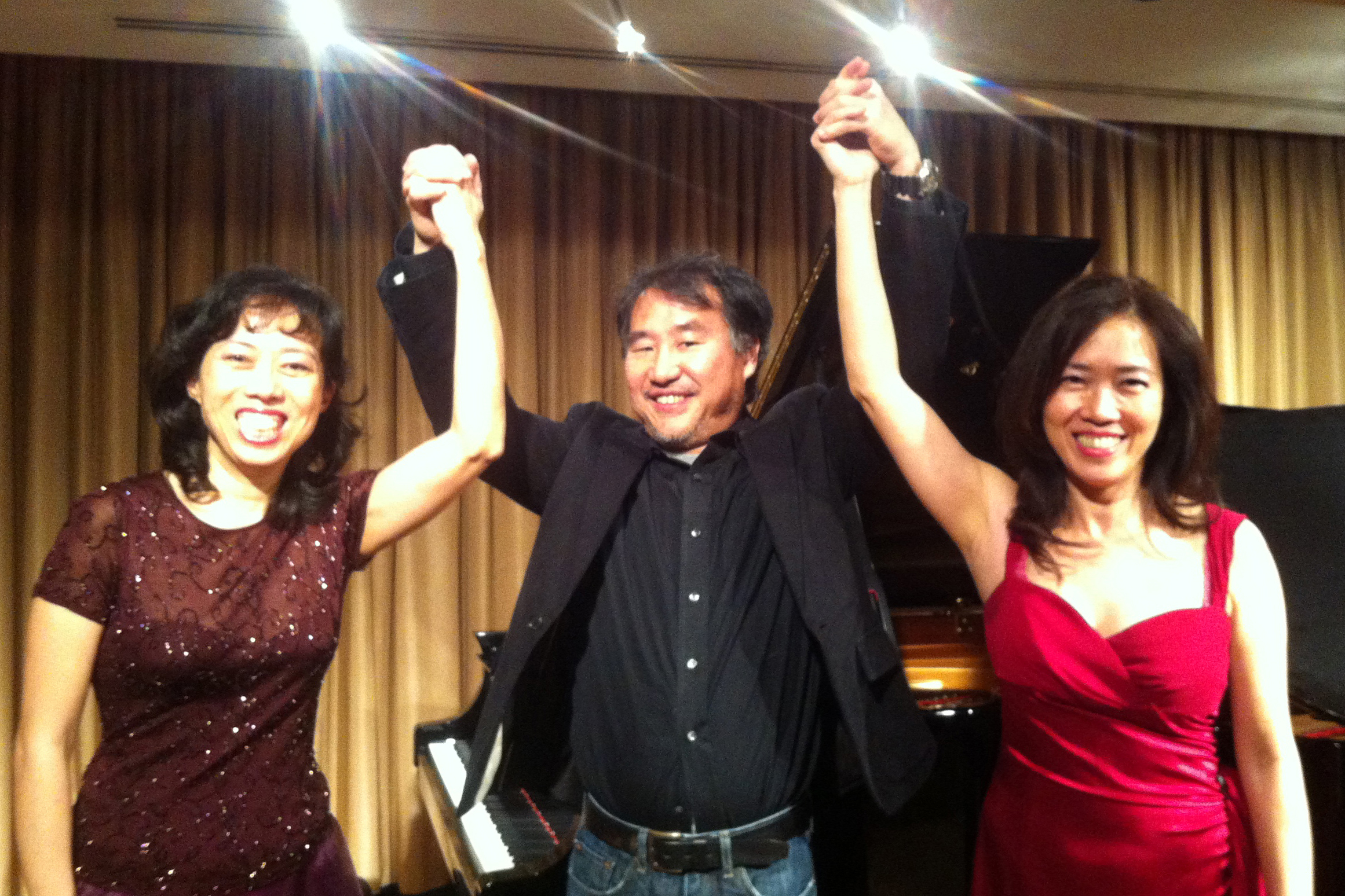 The Long Sisters with Takeshi