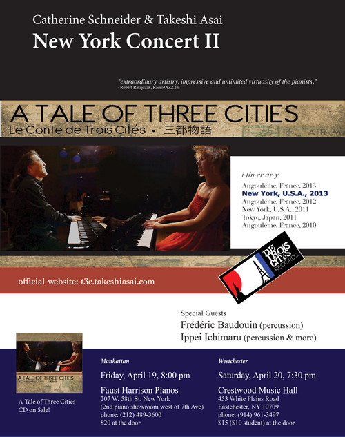 A Tale of Three Cities, New York Concert II